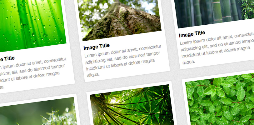 Responsive Image Grids Using CSS